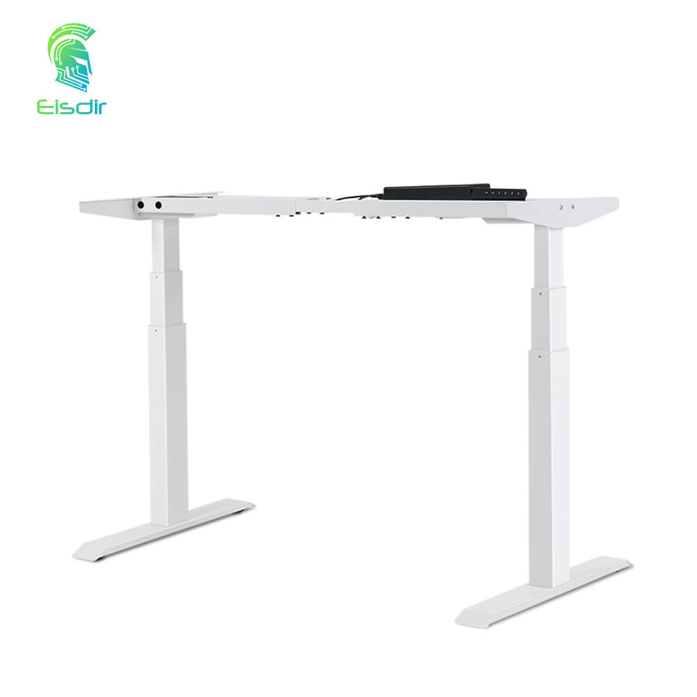 Healthy Solution Three Segments Dual Motor Lift-up Three Segments Standing Desk